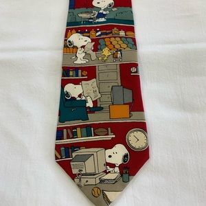 "Peanuts ""All in a Day"" Vintage Novelty Necktie"